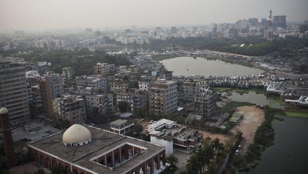 A view over Dhaka the capital of Bangladesh - Sputnik International