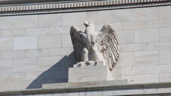 Federal Reserve Building - eagle  - Sputnik International