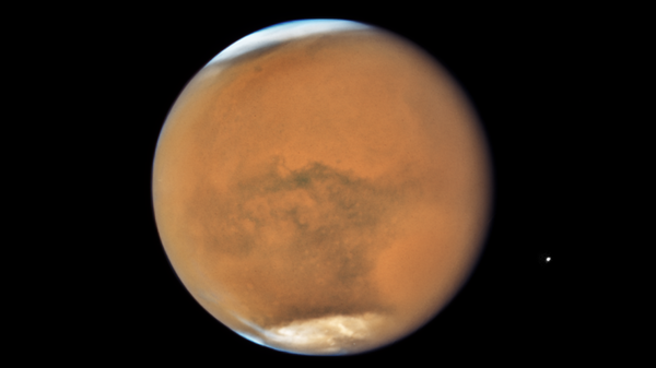 Hubble's Close-up View of Mars Dust Storm. July 26, 2018. - Sputnik International