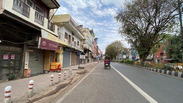 New Delhi imposes curfew - Sputnik International