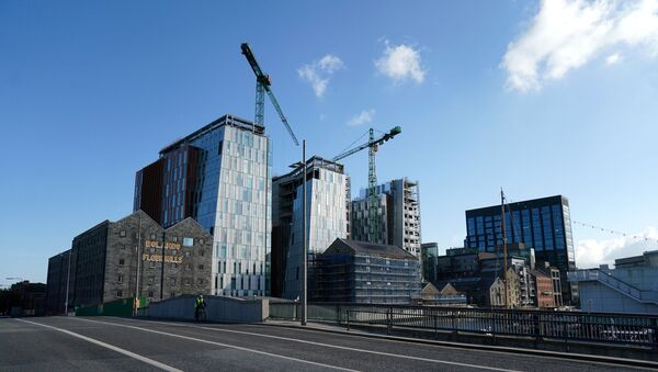 FILE PHOTO: GOOGLE European headquarters buildings in Dublin - Sputnik International