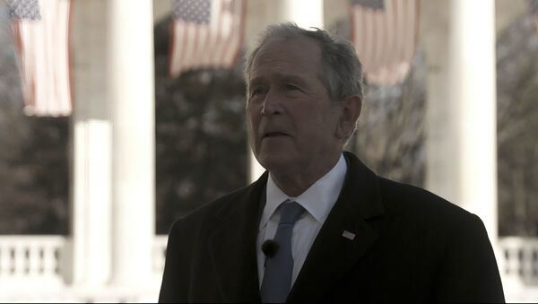 In this image from video, former President George W. Bush speaks during a Celebrating America concert on Wednesday, Jan. 20, 2021, part of the 59th Inauguration Day events for President Joe Biden sworn in as the 46th president of the United States. - Sputnik International