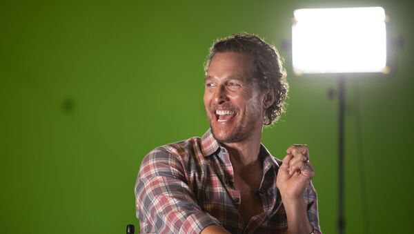 Matthew McConaughey and Scott Rice host conversation with film director and screenwriter Jeff Nichols. - Sputnik International