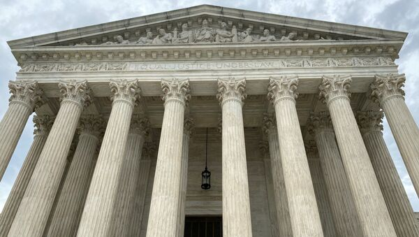 A general view of the United States Supreme Court in Washington, U.S., May 3, 2020. Picture taken May 3, 2020. - Sputnik International