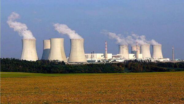 Nuclear power plant Dukovany, Czech Republic. Photo taken by Petr Adamek in October 2005. - Sputnik International