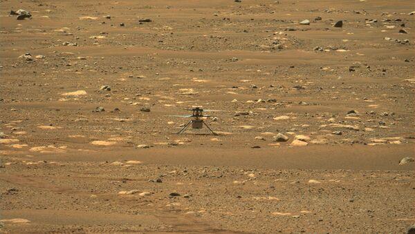 NASA's Mars helicopter Ingenuity makes its first flight - Sputnik International