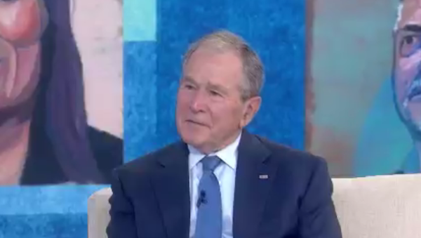 Former US President George W. Bush in an April 20, 2021, interview with NBC's The Today Show - Sputnik International
