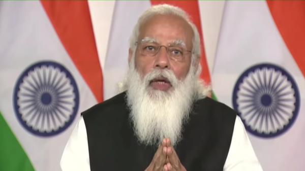 Indian Prime Minister Narendra Modi speaks at the  Leaders Summit on Climate on April 22, 2021 - Sputnik International