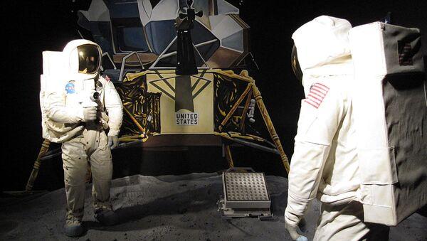 Model of the moon landing - Sputnik International