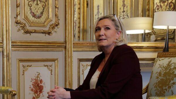 Marine Le Pen at the Elysee Palace in Paris, France, February 6, 2019 - Sputnik International