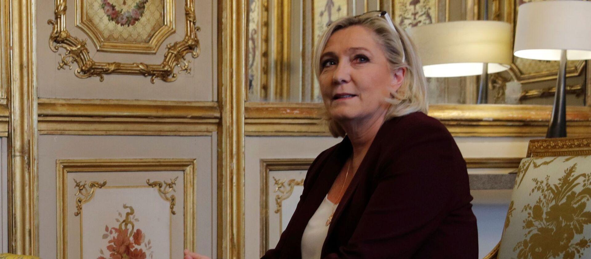 Marine Le Pen at the Elysee Palace in Paris, France, February 6, 2019 - Sputnik International, 1920, 04.07.2021