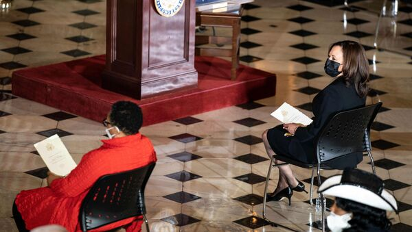 Ceremony honouring the life of the late Congressman Alcee L. Hastings, D-Fla., in Statuary Hall - Sputnik International