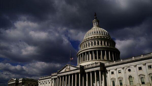 A general view of the U.S. Capitol in Washington, U.S., April 22, 2021. - Sputnik International