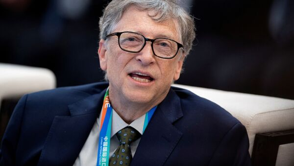 Microsoft co-founder Bill Gates attends a forum of the first China International Import Expo (CIIE) in Shanghai on November 5, 2018 - Sputnik International