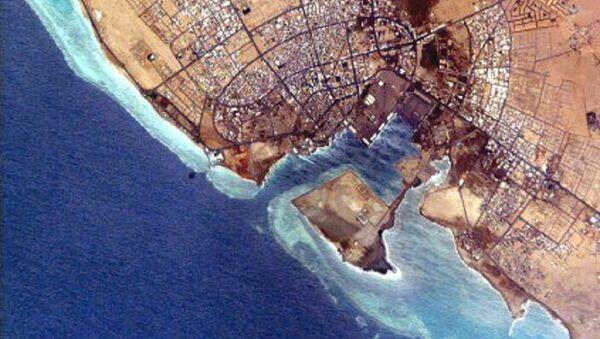 NASA photo of Yanbu' al Bahr. - Sputnik International