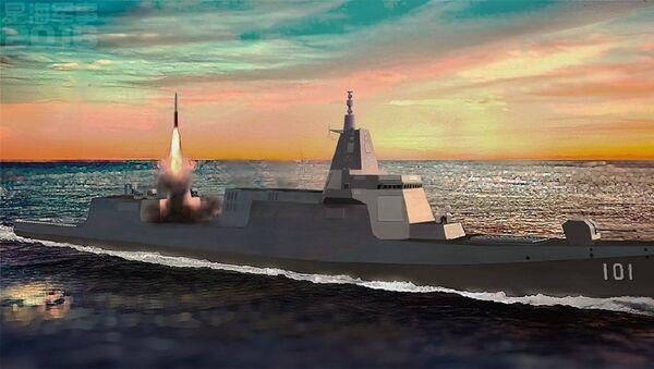Type 055 destroyer - Sputnik International