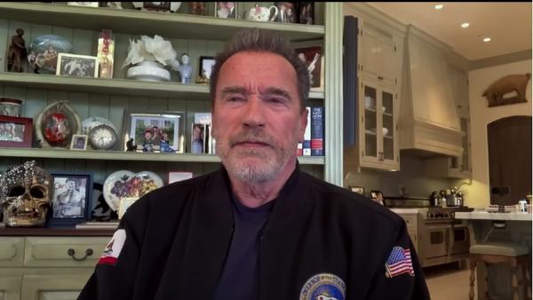 Arnold Schwarzenegger on Jimmy Kimmel Live! on April 26, 2021 - Sputnik International