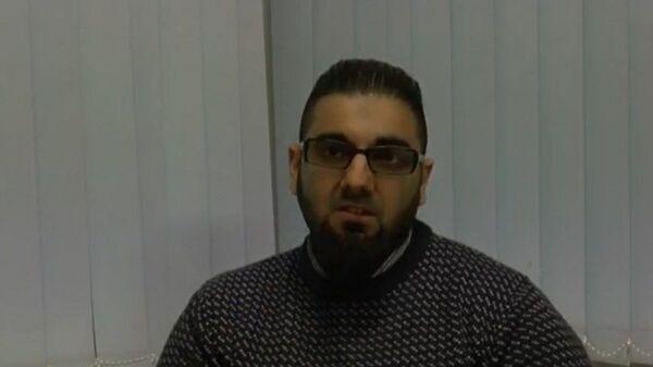 Usman Khan pictured during one of his Learning Together sessions - Sputnik International