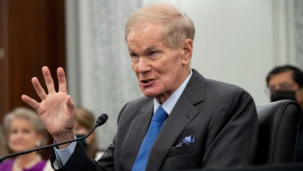 Former US Senator Bill Nelson, nominee to be administrator of NASA, testifies during a  Senate Committee on Commerce, Science, and Transportation confirmation hearing on Capitol Hill in Washington, DC, U.S. April 21, 2021. - Sputnik International
