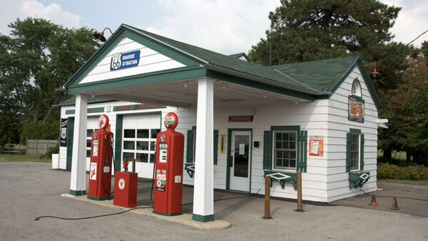 One of the longest-operating gas stations on the whole Route 66. - Sputnik International