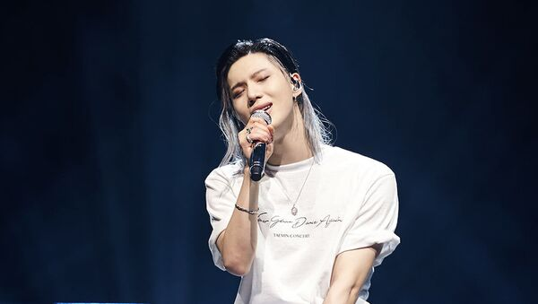 Taemin during his solo concert 'Never Gonna Dance Again' - Sputnik International