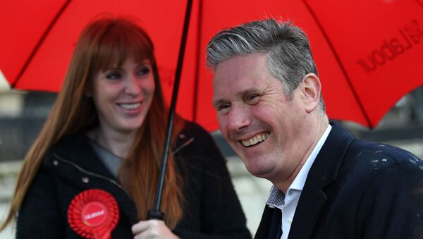 Labour Party leader Keir Starmer campaigns ahead of local elections, in Birmingham - Sputnik International