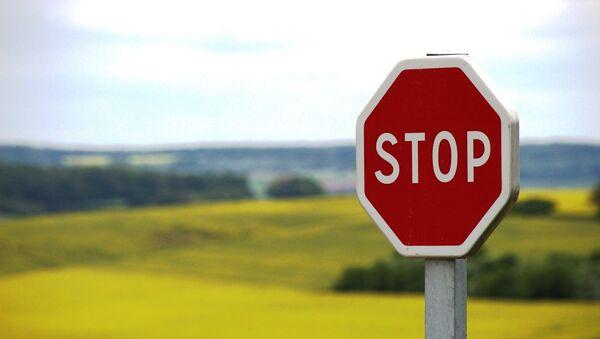 A stop sign  - Sputnik International