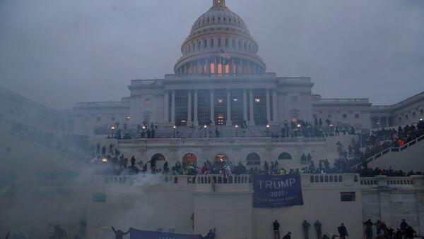 FILE PHOTO: Supporters of U.S. President Donald Trump gather in Washington - Sputnik International