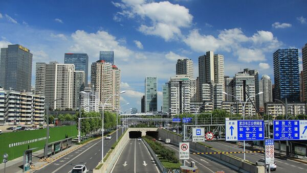 Skyline of Wuhan, Hubei Province, China - Sputnik International