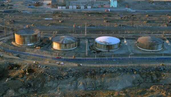 Diesel fuel storage tanks - Sputnik International