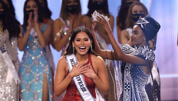 Miss Mexico Andrea Meza is crowned Miss Universe 2021 - Sputnik International
