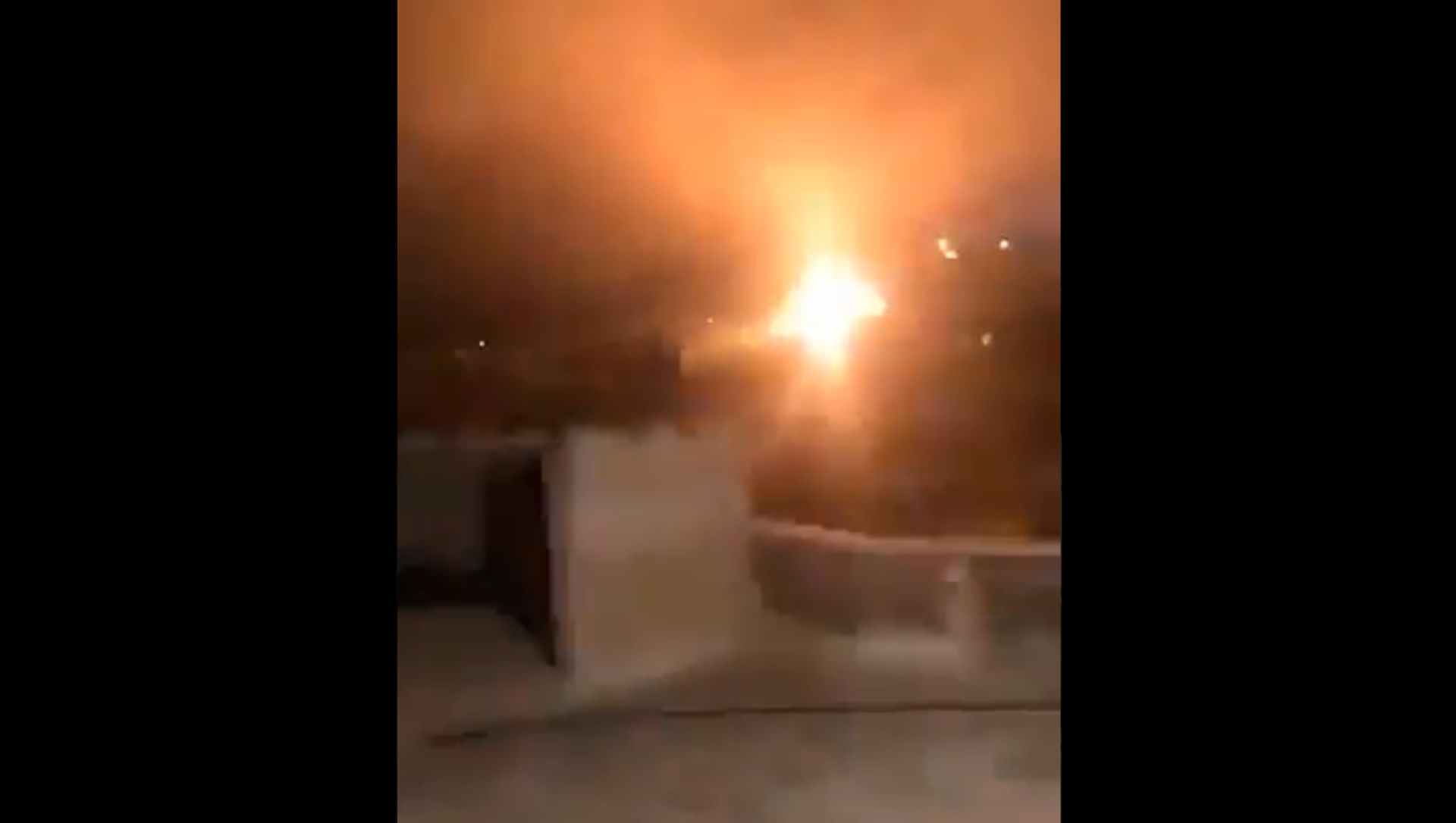 Screenshot from a video allegedly showing the IDF responding to rocket fire in the area of Misgav Am, in the northern part of Israel - Sputnik International, 1920, 17.05.2021