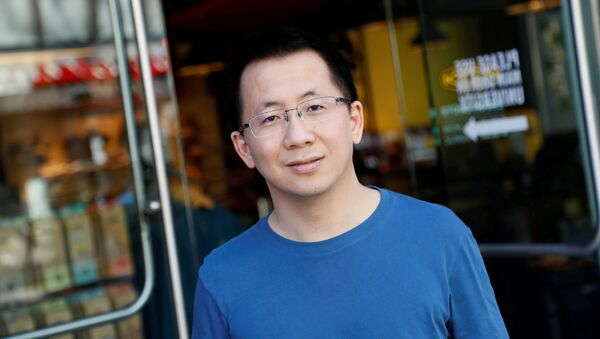 Zhang Yiming, founder and global CEO of ByteDance, poses in Palo Alto, California, U.S., March 4, 2020. Picture taken March 4, 2020 - Sputnik International