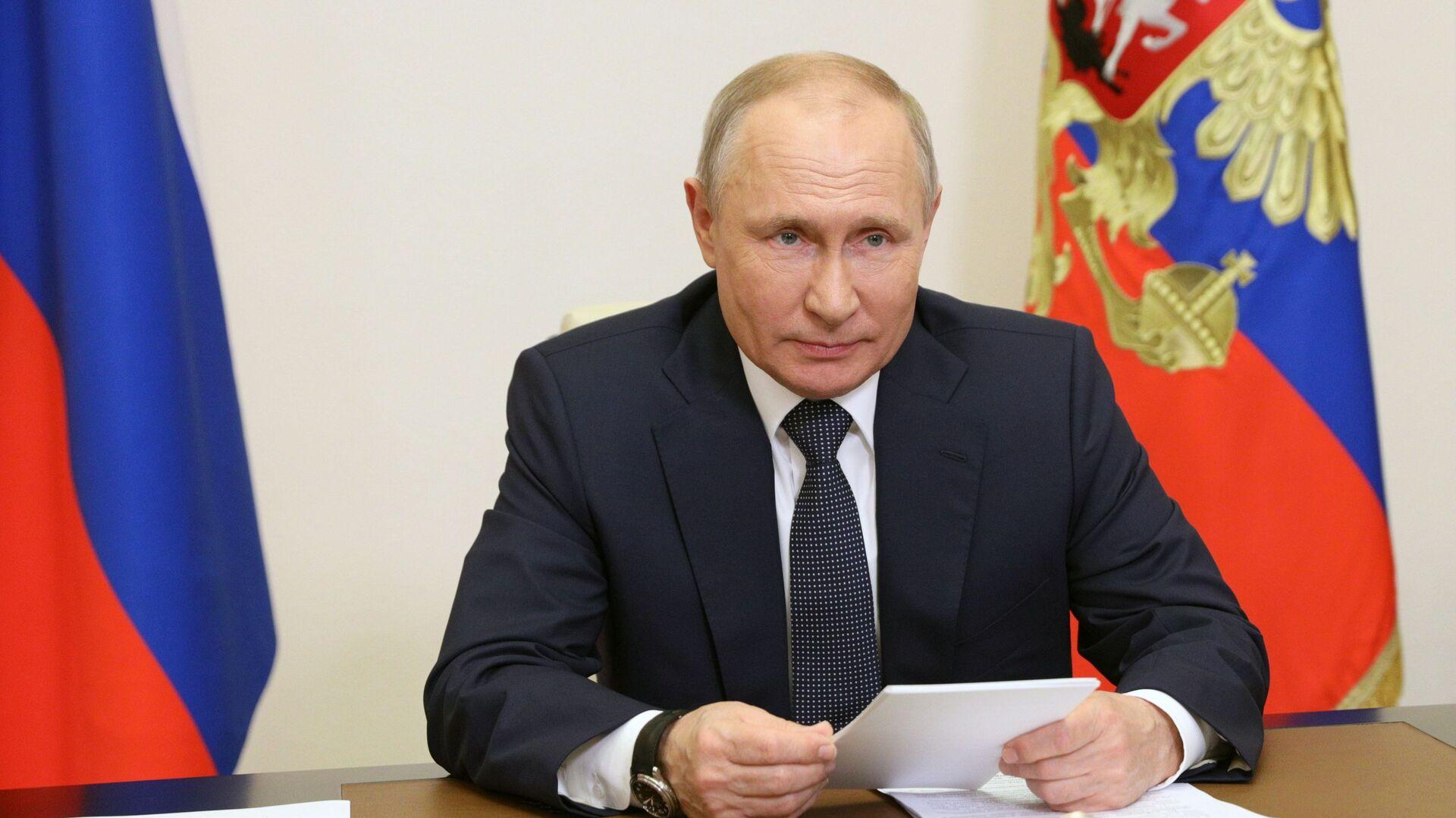 Russian President Vladimir Putin - Sputnik International, 1920, 14.09.2021