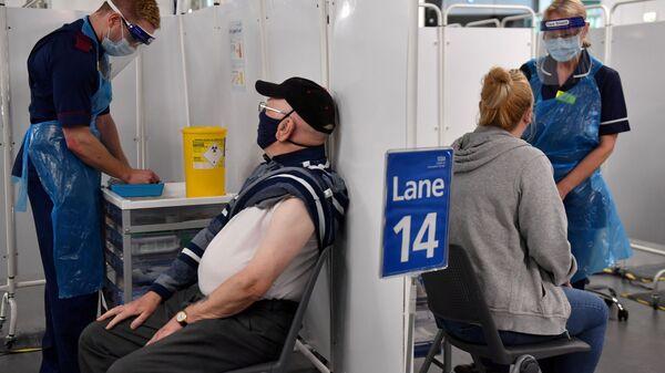 FILE PHOTO: FILE PHOTO: COVID-19 vaccinations in Birmingham - Sputnik International