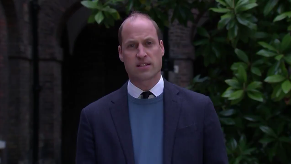 Prince William, Duke of Cambridge, speaks on the final report on the BBC's mishandling of a 1995 interview with his mother, Princess Diana - Sputnik International