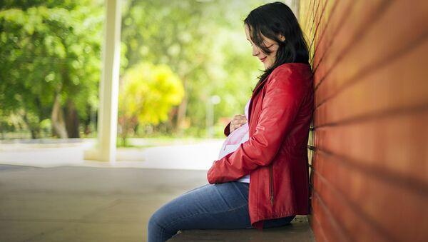 A pregnant woman  - Sputnik International