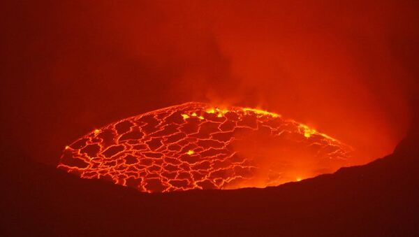 Nyiragongo eruption in Democratic Republic of Congo - Sputnik International
