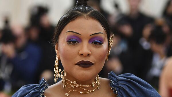 Paloma Elsesser attends The Metropolitan Museum of Art's Costume Institute benefit gala celebrating the opening of the Camp: Notes on Fashion exhibition on Monday, 6 May 2019, in New York.  - Sputnik International