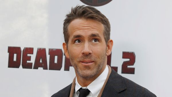 Actor Ryan Reynolds poses on the red carpet during the premiere of Deadpool 2 in Manhattan, New York, U.S., May 14, 2018. - Sputnik International