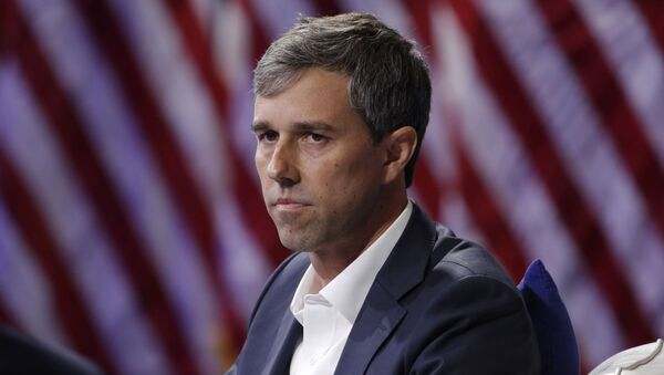 Democratic presidential candidate and former Texas Rep. Beto O'Rourke listens during a gun safety forum Wednesday, Oct. 2, 2019, in Las Vegas. - Sputnik International