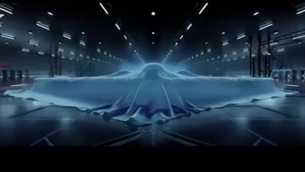 Screenshot from the PLA Air Force 2021 recruitment video - Sputnik International