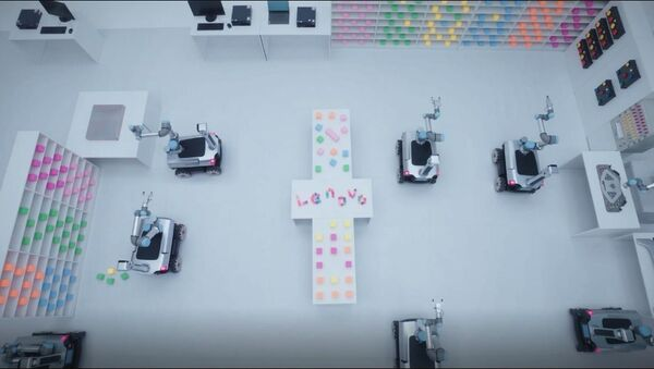 Lenovo's Daystar Robots in action - Sputnik International