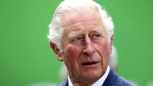 Britain's Prince Charles during a visit to St Bartholomew's Hospital in the City of London, Tuesday, 11 May 2021. Prince Charles, patron of Barts Heritage, is visiting ahead of International Nurses' Day on 12 May. - Sputnik International