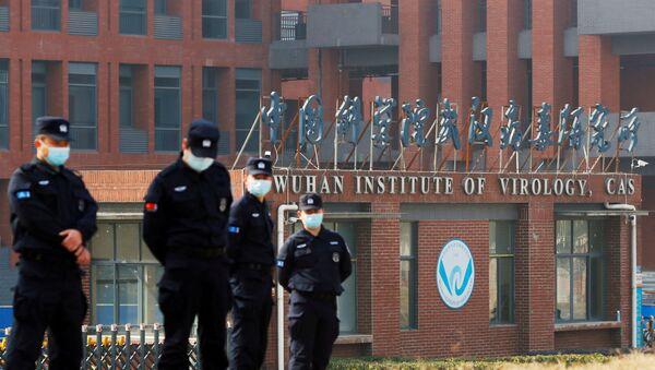 FILE PHOTO: WHO team visits Wuhan Institute of Virology - Sputnik International