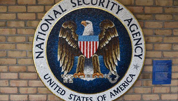 NSA National Cryptologic Museum - Mosaic of the NSA Seal - Sputnik International