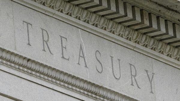 This May 4, 2021 file photo shows the Treasury Building in Washington - Sputnik International