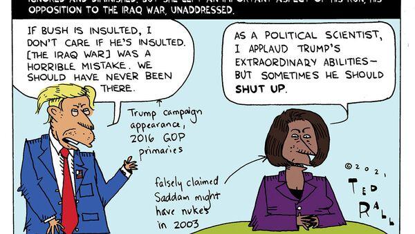 Condi Praises Trump - Sputnik International
