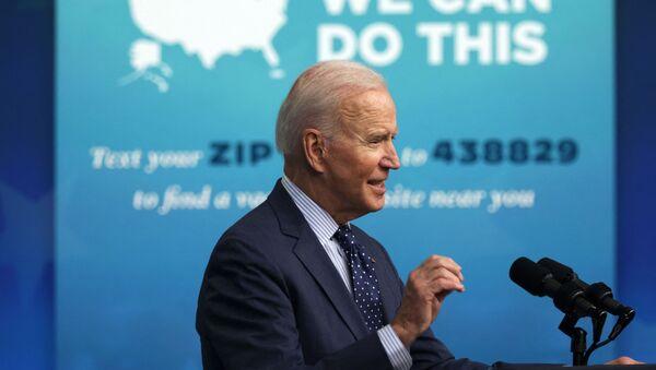 US President Joe Biden speaks during a White House event on 2 June 2021. - Sputnik International