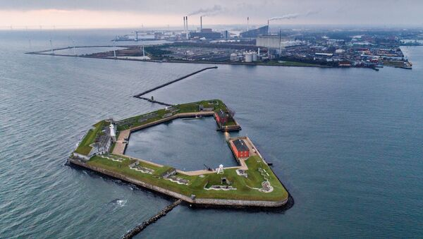 A view of the area in the Port of Copenhagen, where the artificial island Lynetteholm is planned to be built - Sputnik International